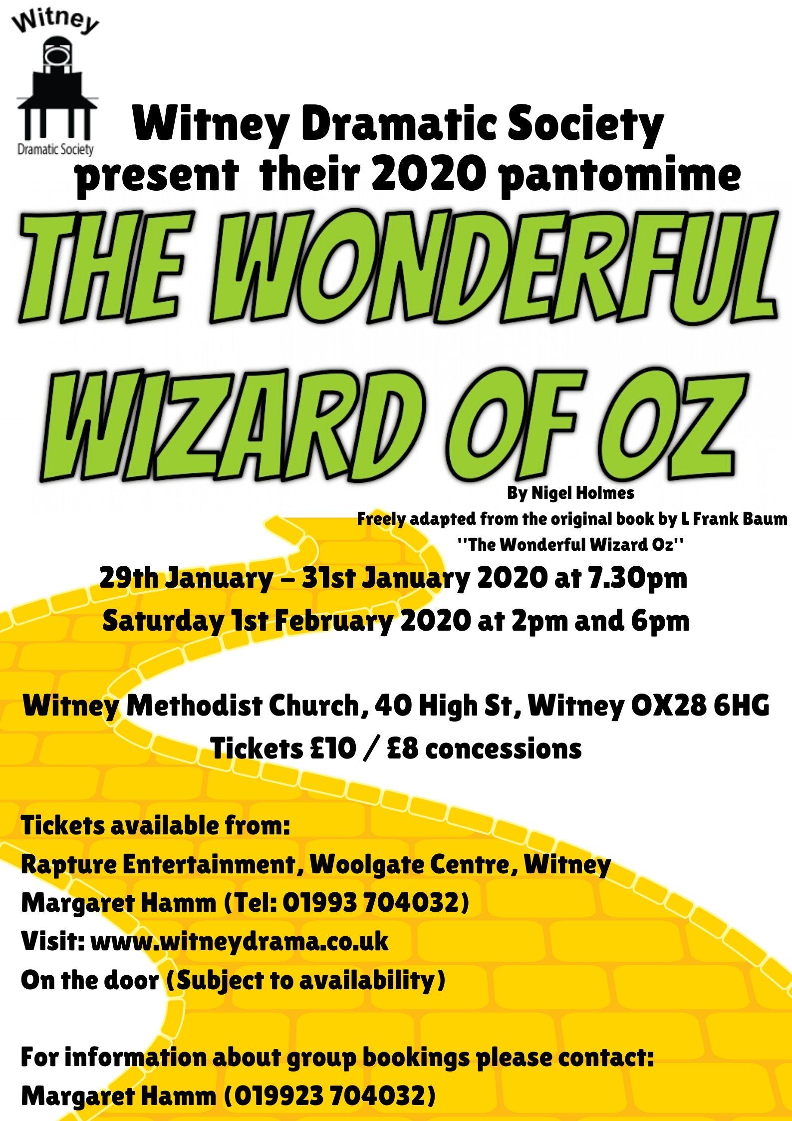 WIZARD OF OZPosterGraphic