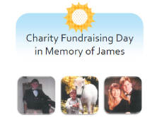 Charity Fundraising Day in memory of James